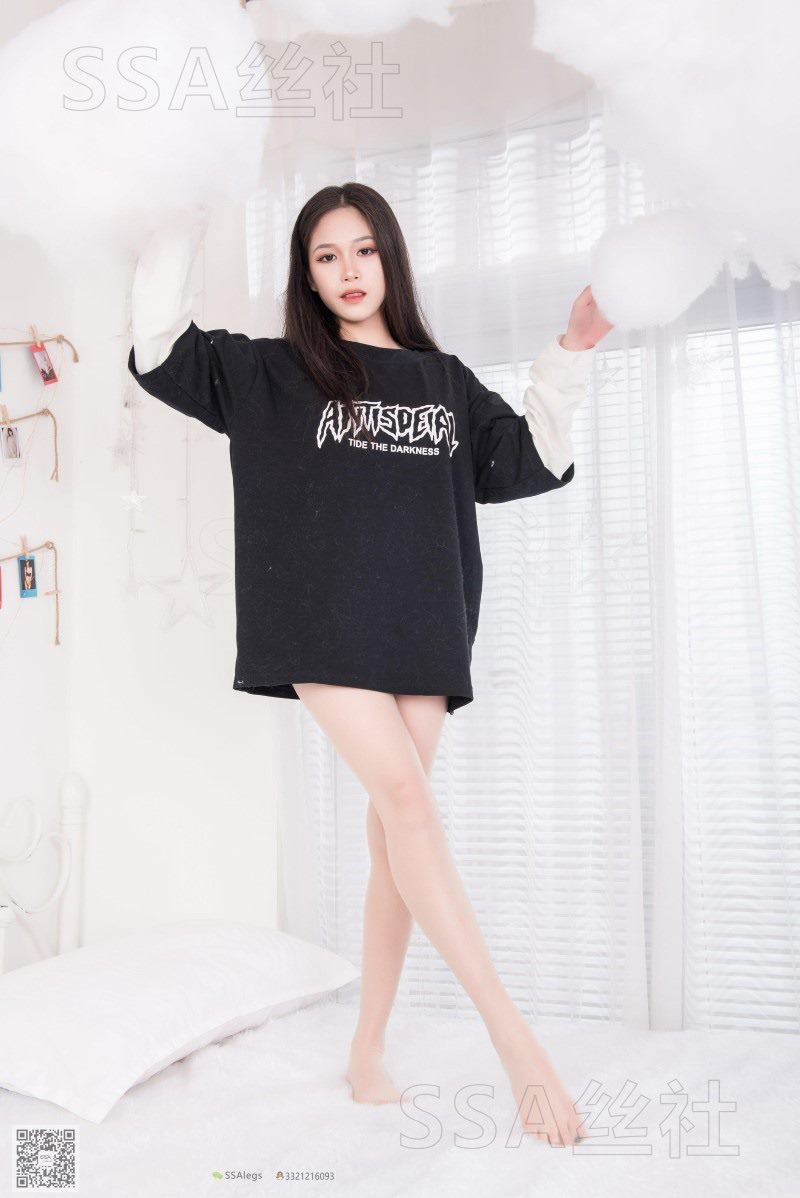 [SSA丝社] NO.071 佳佳 小丝妹的闺房娱乐[99P/71.8M]